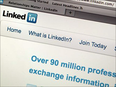 LinkedIn allows users to fill in their personal details later