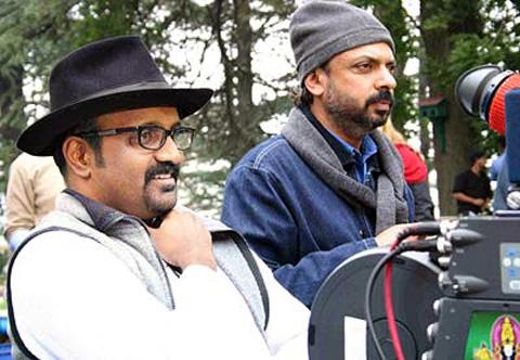 Cinematographer Ravi Chandran shooting with Sanjay Leela Bhansali for Black