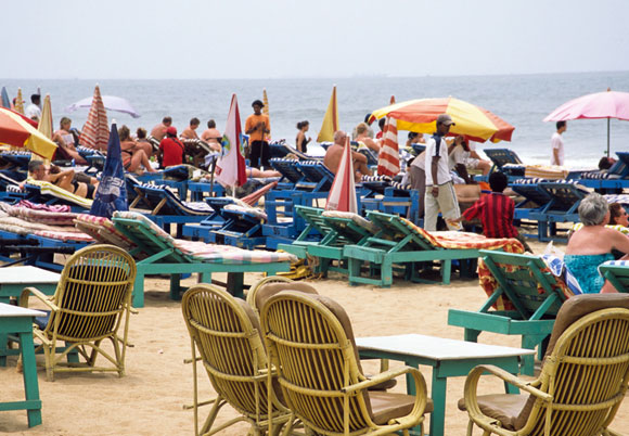 Baga Beach, Calangute, Goa