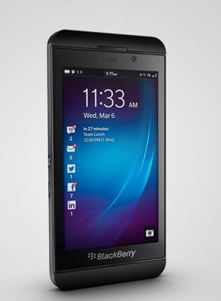 BlackBerry Z10 launched in India for Rs 43,499