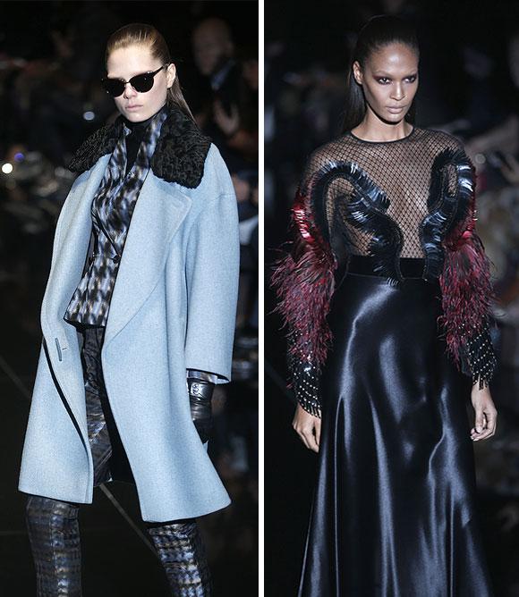 Gucci's sexy silhouettes.