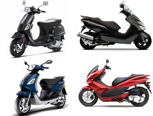 TOP 4 scooters to look forward to this y