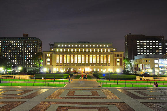 Columbia University's Butler Library