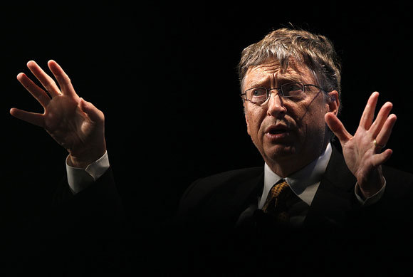 Bill Gates scored 1590 out of 1600 on his SATs
