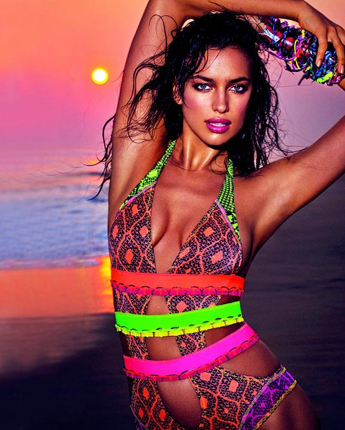 Irina Shayk for Agua Bendita