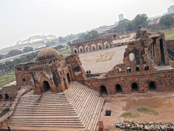 The ruins that now make Firozabad's Kotla