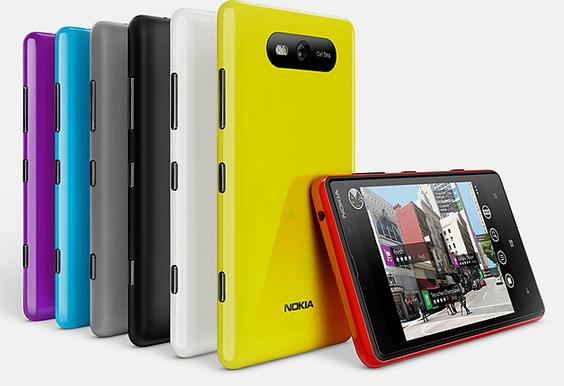 First look: Nokia Lumia 820