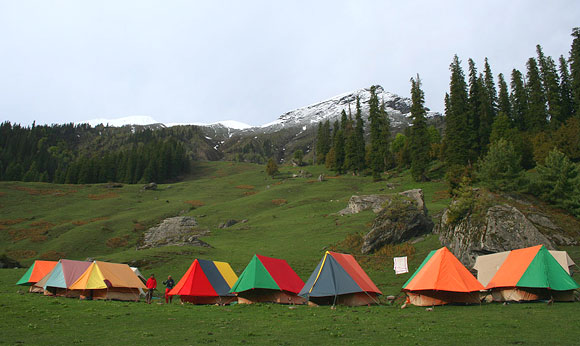 Sar Pass Trek in Kullu District of Himachal Pradesh