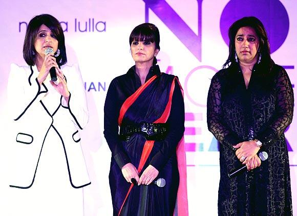 Varuna D Jani, Neeta Lulla and Anu Ranjan
