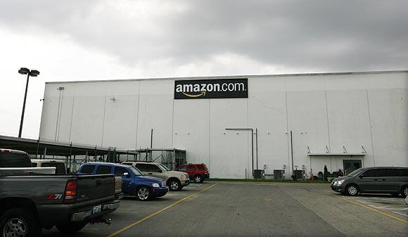 Amazon's warehouse in Campbellsville, Kentucky