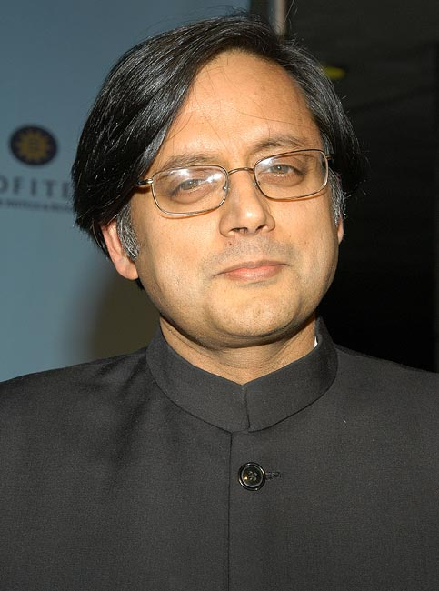 Minsiter of HRD Shashi Tharoor's file image