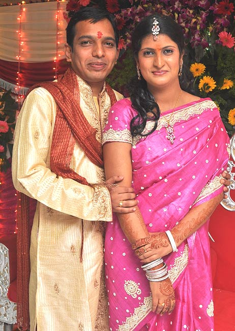 Mahesh and Shruti Narula