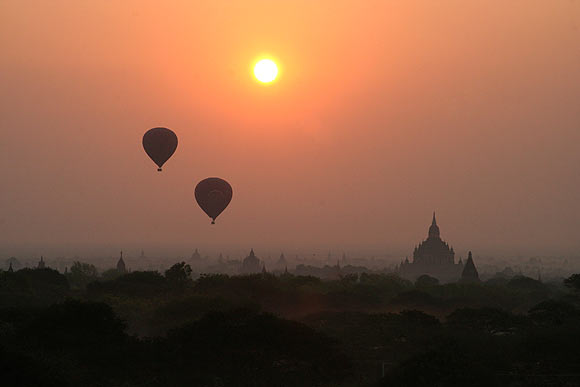 DON'T MISS: Stunning snapshots from Myanmar