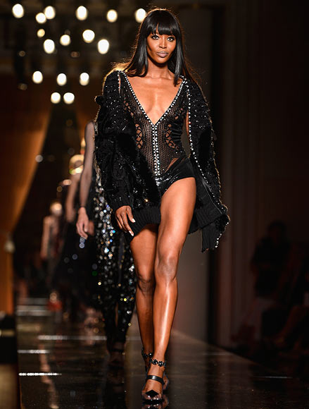 Naomi Campbell for Versace
