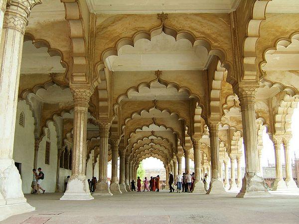 Agra Fort's Diwan-e-Aam