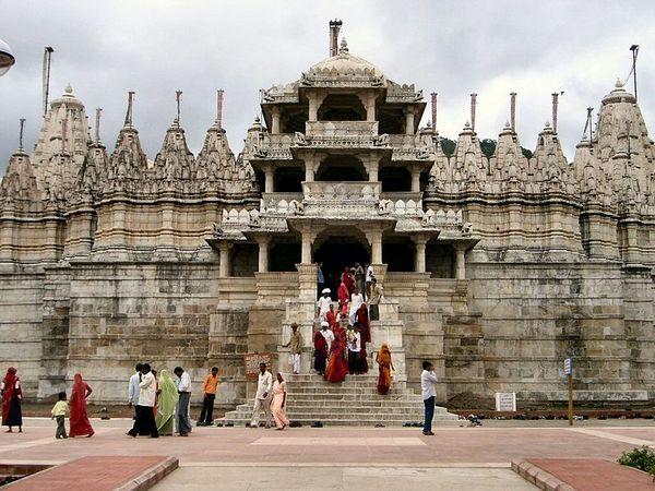 The Jain Temple at Rajankpur