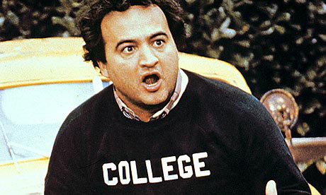 A still from the film Animal House