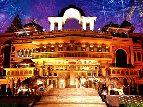 Kingdom of Dreams is Gurgaon's latest tourist destination.