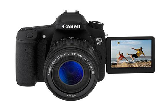 PICS: The Canon EOS 70D