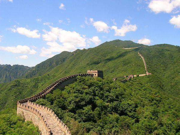 Great Wall at Mutianyu, Beijing
