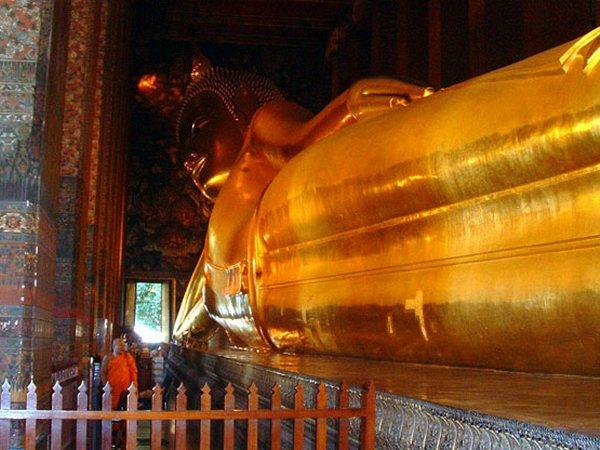 Temple of the Reclining Buddha (Wat Pho), Bangkok, Thailand