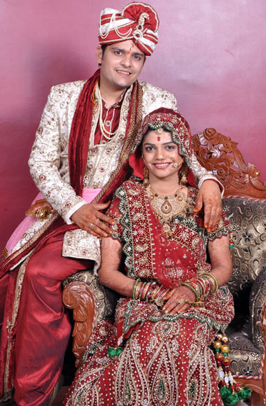 Neema Khandelwal with her husband Alex
