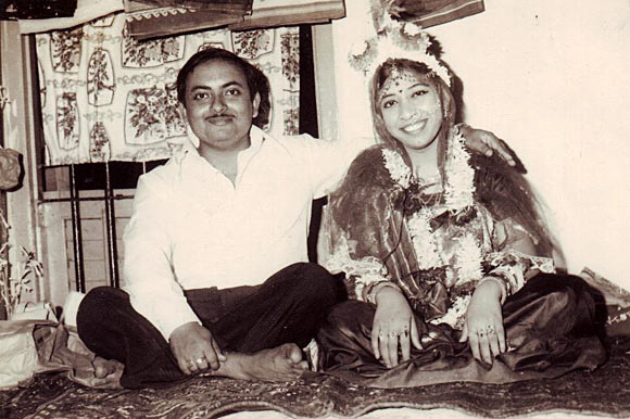 Sutapa Sen with her husband Ashok Sen