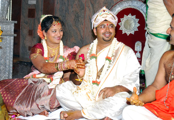 Ranjith Kundapur with his wife Supriya