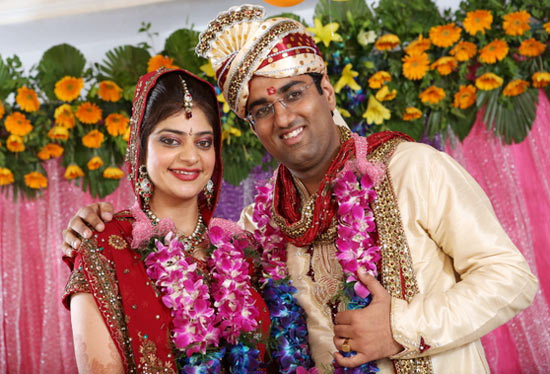 Manish Puri with his wife Meenakshi