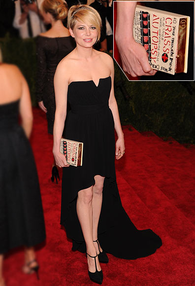 Michelle Williams attends the Costume Institute Gala for the 'PUNK: Chaos to Couture' exhibition at the Metropolitan Museum of Art on May 6, 2013 in New York City