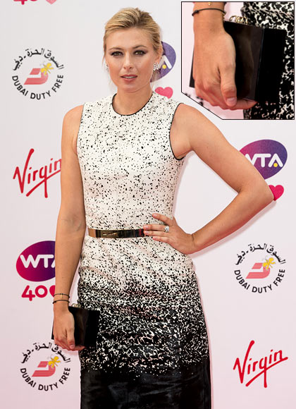 Maria Sharapova attends the annual pre-Wimbledon party at Kensington Roof Gardens on June 20, 2013 in London, England