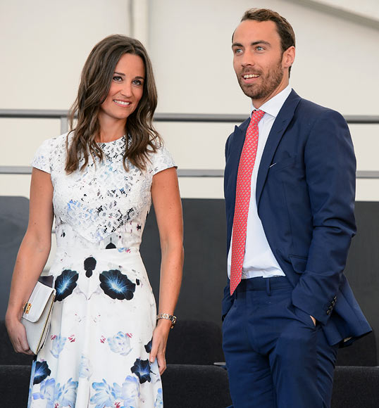 Pippa Middleton and James Middleton