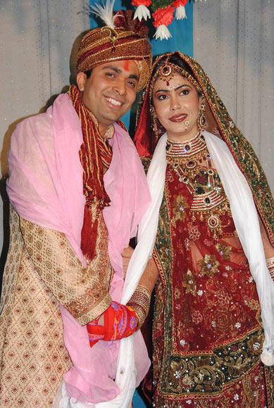 Amit with his wife Tia Nagrani