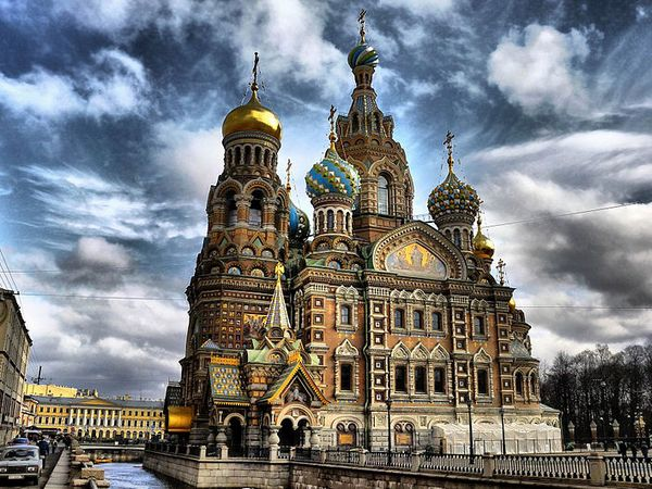 Church of Our Savior on Spilled Blood, St Petersburg, Russia