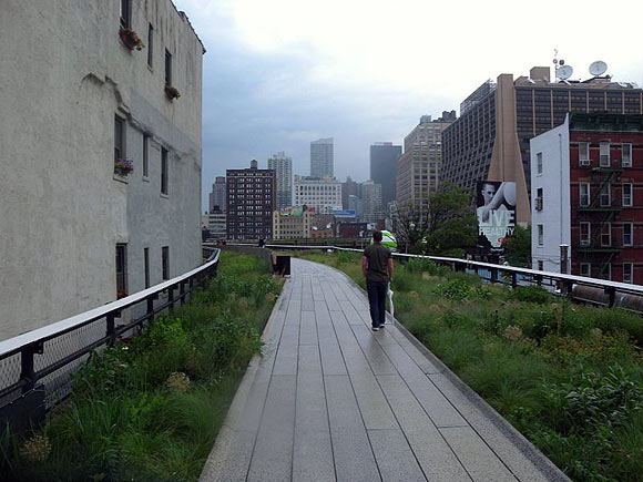The center section of the High Line, New York City, New York
