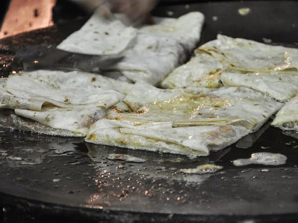 Buttery Egg Kheema Rolls at Charminar Kabab Paradise