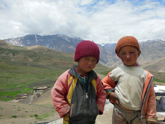 Boys of Langza. Spiti's schoolchildren attend summer camps high in the valley where they learn about their fragile ecosystem