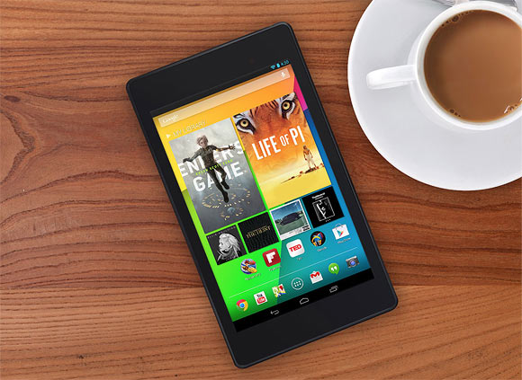 The new Google Nexus 7 tablet