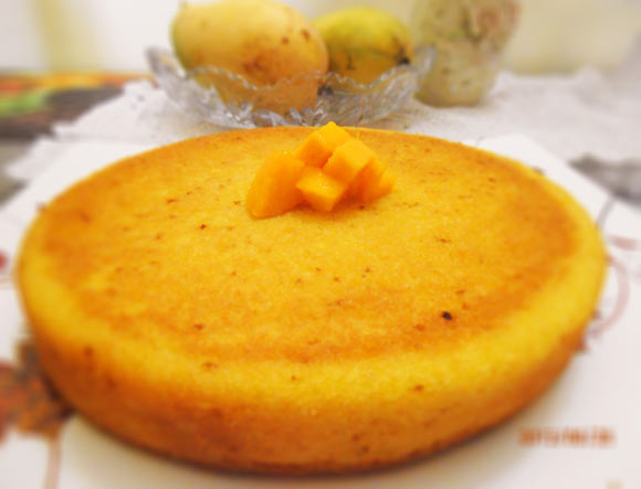 How To Make Mango Cake Without Oven