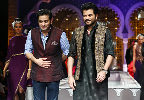 Raghavendra Rathore and Anil Kapoor