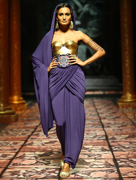 Phrase Nude india runway pic something is