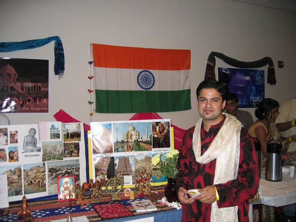 Mahajan believes he's happier living in India, despite all its shortcomings.