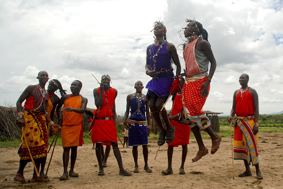 The Dancing Maasais
