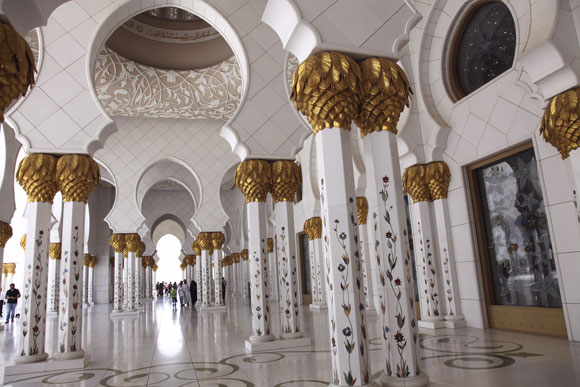 The Sheikh Zayed Grand Mosque, Abu Dhabi