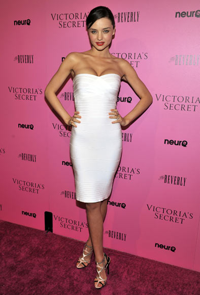 Miranda Kerr attends the Victoria's Secret 'What Is Sexy' list: Bombshell Summer Edition launch party held at The Beverly on May 12, 2011 in West Hollywood, California