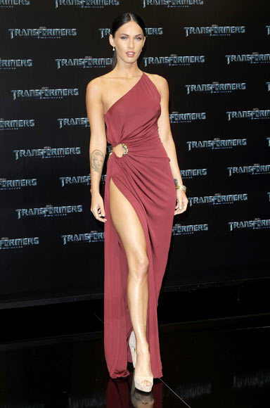 Megan Fox attends the German premiere of 'Transformers: Revenge Of The Fallen' at the Sony Center CineStar on June 14, 2009 in Berlin, Germany