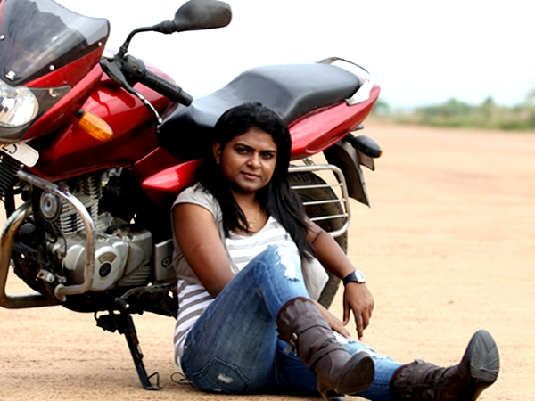 Chithra Priya Is India S Only Female Rider To Cover 1600