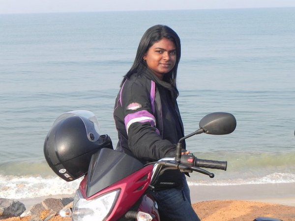 Even though she remains a passionate biker, Chithra says it is just a part of her life. She sees a lot more beyond her riding career.