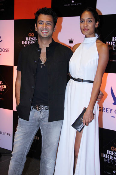 Karan Bhojwani and Lisa Haydon