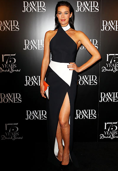 Megan Gale in David Jones